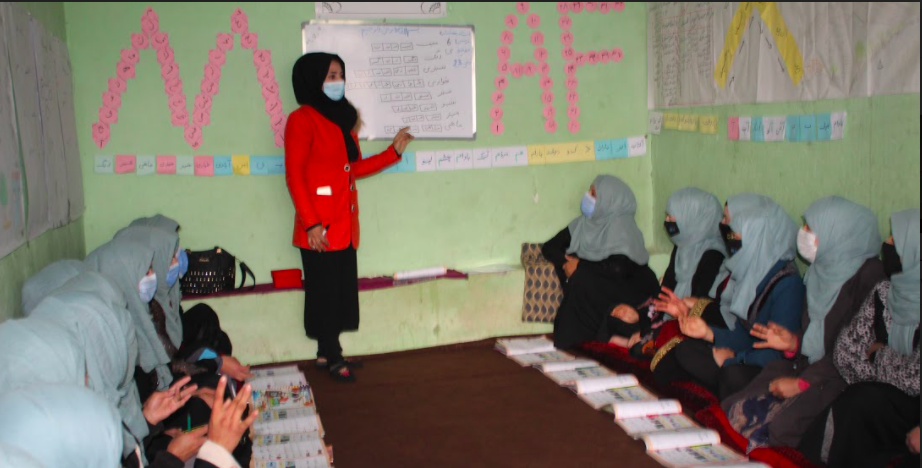 The Pandemic Halts Schooling for Afghan Students